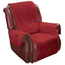 Recliner Chair Cover Protector w/ Pockets for Remotes and Ce