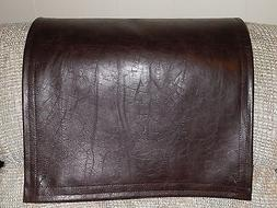 Recliner Headrest Cover Furniture Protector Med Weight Choco