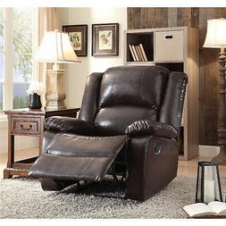 Recliner Oversized Head And Back Support, Espresso PU