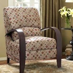 Retro Bent Arm Reclining Chair Recliners Recliner Armchair A