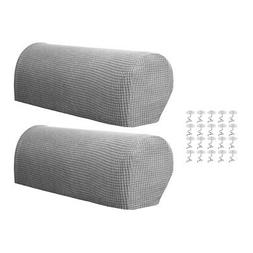 Sofa Armrest Cover Stretch Fabric for Couch Armchair Recline