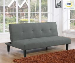SOFA BED CONVERTIBLE SLEEPER Lounger Futon Couch Casual Cush
