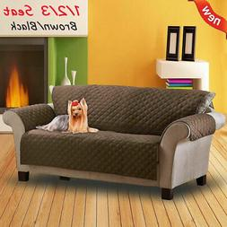 Sofa Covers For Dogs Pets Kids Anti-Slip Armchair Living Roo