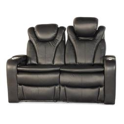 Barcalounger Solaris Black Home Theater Seating Chairs Recli