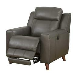 Furniture of America Soranno Faux Leather Power Reclining Ch