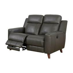 Furniture of America Soranno Faux Leather Power Reclining Lo