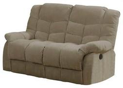 upholstered reclining loveseat id 3072809