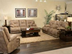 Catnapper - Voyager 2 Piece Power Lay Flat Reclining Sofa Se